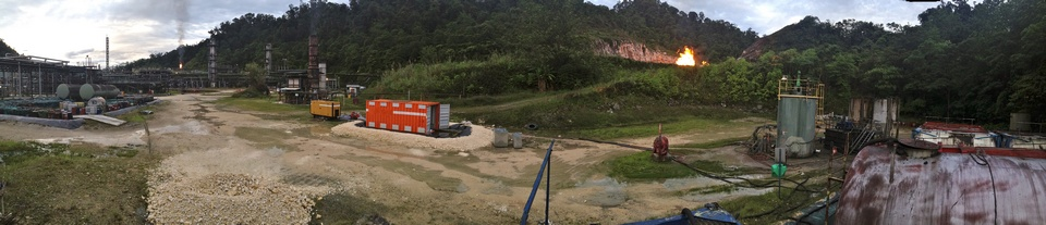 Createnergy oil recovery project (panorama)
